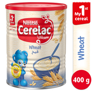 Nestle Cerelac Infant Cereals with Iron + Wheat From 6 Months 400g