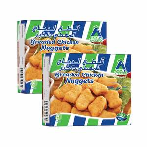 Assafa Breaded Chicken Nuggets 400g x 2pcs