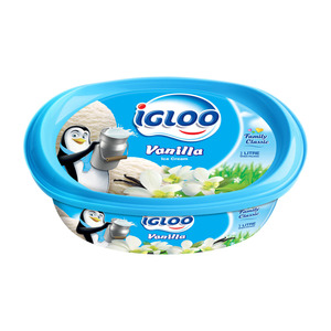 Igloo Vanilla Ice Cream 2Litre