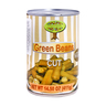 Organiqelle Natural Cut Green Beans 411g