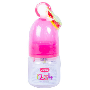 Lulu Baby Feeding Bottle Assorted Color 1pc
