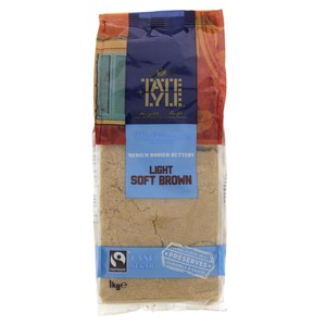 Tate Lyle Mediterranean Inspired Light Soft Brown Sugar 1kg