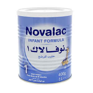 Novalac 1 Infant Formula From Birth Till 6 Months 400g