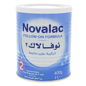 Novalac 2 Baby Milk Powder From 6 Months Till 1 Year 400g