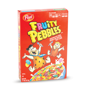 Post Fruity Pebbles Sweetened Rice Cereal 311g