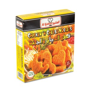 Al Kabeer Chicken Cheese Nuggets 400g