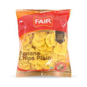 Fair Banana Chips Plain 200g