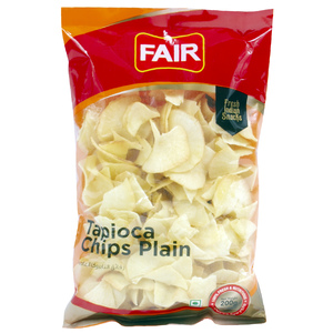 Fair Tapioca Chips Plain 200g