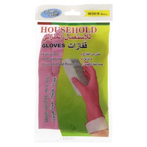 Home Mate House Hold Gloves Medium 1pc
