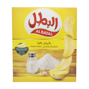 Al Batal Salt Potato Chips 14 x 23g
