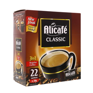 Alicafe Classic 3 in 1 Regular Coffee 22 x 20g