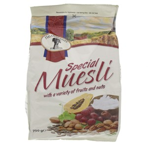 Heartland Special Muesli With A Variety Of Fruits And Nuts 750g