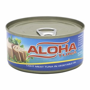 Aloha Light Meat Tuna in Vegetable Oil 185g