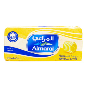 Almarai Natural Butter Salted 200g