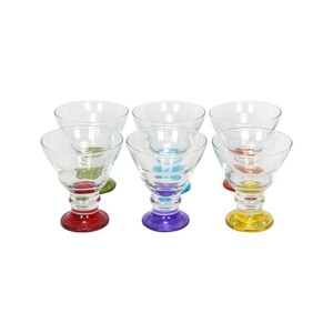 Art & Craft Glass Set 6pcs AR-187