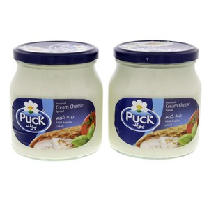 Puck Processed Cream Cheese Spread 500g x 2pcs