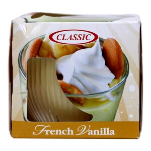 Classic Candle French Vanilla 4oz