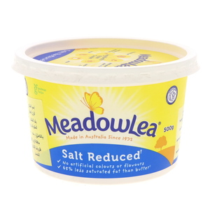 Meadowlea Margarine Salt Reduced 500g