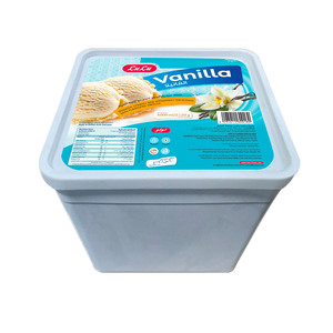 Lulu Vanilla Flavored Ice Cream 4Litre