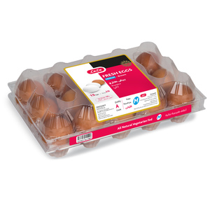 Lulu Brown Fresh Eggs Medium 15pcs
