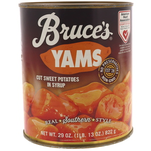 Bruce's Yams Cut Sweet Potatoes In Syrup 822g