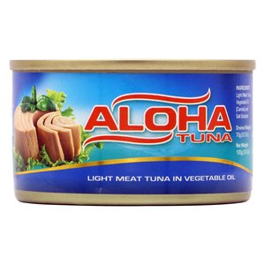 Aloha Light Meat Tuna In Vegetable Oil 100g