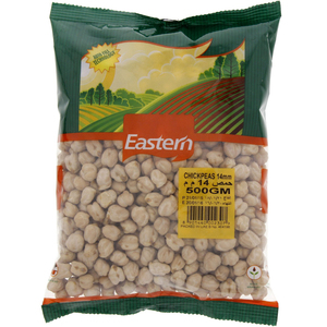 Eastern Chick Peas 14 Mm 500g