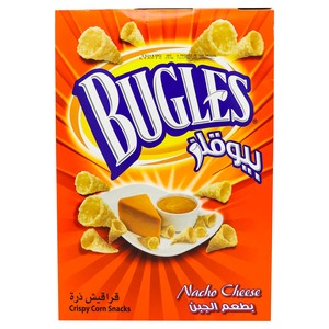 Bugles Corn Snack Nacho Cheese 15 x 18g