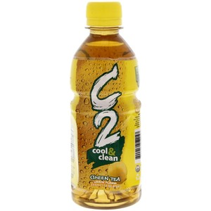C2 Lemon Flavour Green Tea 355ml