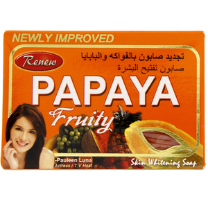 Renew Papaya Fruity Soap 135g