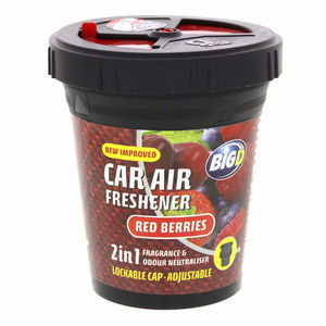 Big D Car Air Freshener Red Berries 130g