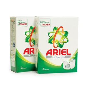 Ariel Washing Powder Concentrated  3kg 2pcs