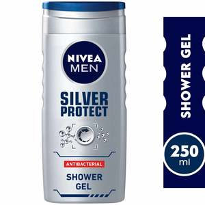 Nivea Shower Gel Silver Protect For Men 250ml