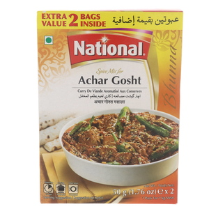 National Spice Mix For Achar Gosht 2 x 50g