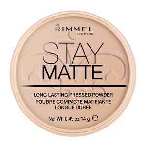 Rimmel London Stay Matte Pressed Powder Shade 005 Silky Beige 14g