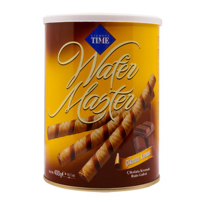 Cizmeci Time Wafer Tin Chocolate 400g