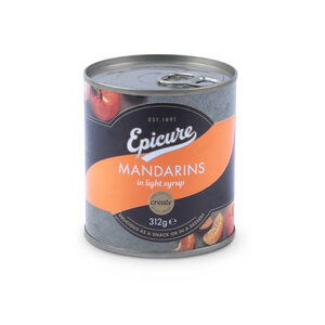 Epicure Mandarins in Light Syrup  312g