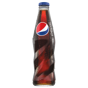 Pepsi Carbonated Soft Drink Glass Bottle 250ml