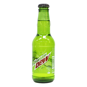 Mountain Dew Carbonated Soft Drink Glass Bottle 6 x 250ml