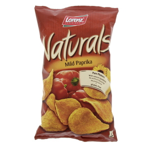 Lorenz Natural Mild Paprika chips 100g