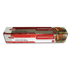 Lulu Multipurpose Aluminium Foil Size 150m x 45cm 726.6sq.ft 1pc
