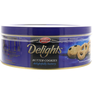 Tiffany Delights Butter Cookies 405g