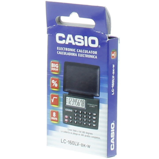 Casio Electronic Calculator LC-160LV