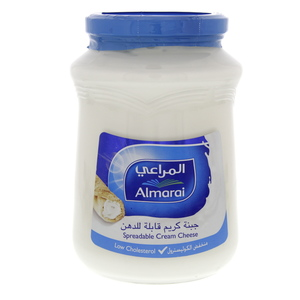 Almarai Spreadable Cream Cheese Low Cholesterol 910g
