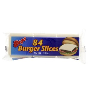Bega 84 Burger Slices 1kg