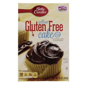 Betty Crocker Yellow Gluten Free Cake Mix 425 Gm