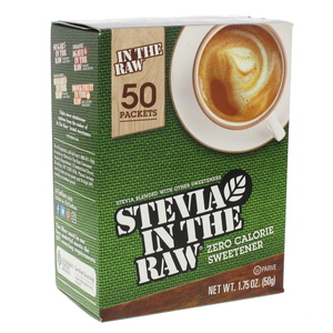 Stevia In The Raw Zero Calorie Sweetener 50 pcs