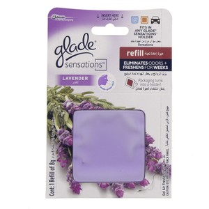 Glade Sensation Lavender Gel Air Freshener 8 Gm