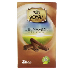 Royal Cinnamon Natural Tea Bags 25pcs
