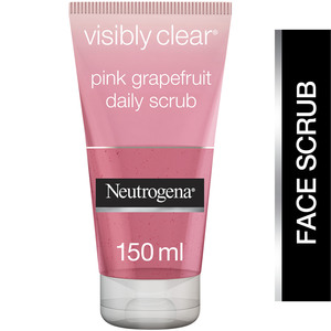 Neutrogena Oil-Free Acne Wash Pink Grape Fruit Daily Scrub 125ml